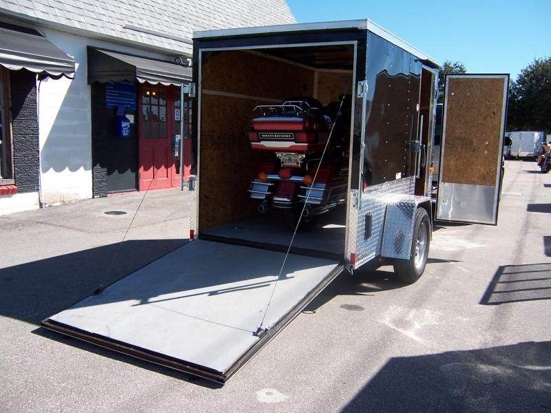 Wallace Trailer 5x8 Enclosed